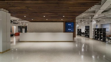 Gallery and Reception Desk