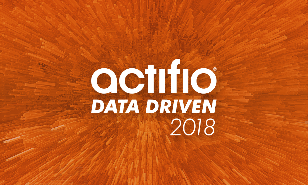 Actifio Data Driven 2018
