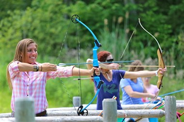 Archery at the Mountain Top Lake