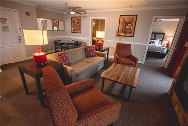 Presidential Suite at Minerals Hotel