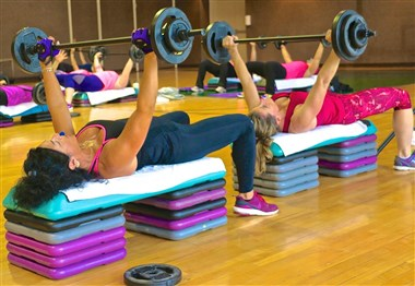 80+ Weekly Fitness Classes at Minerals Sports Club
