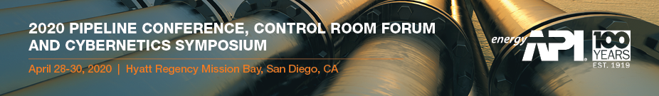 2020 Pipeline Conference, Control Room Forum, and Cybernetics Symposium