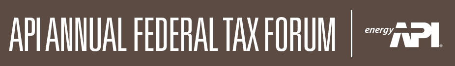 83rd Annual API Federal Tax Forum