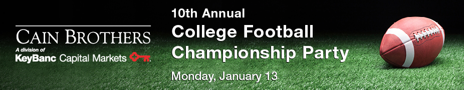 Cain Brothers 10th Annual College Football Championship Party