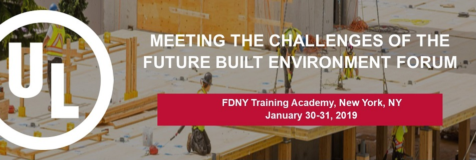 Meeting the Challenges of the Future Built Environment Forum