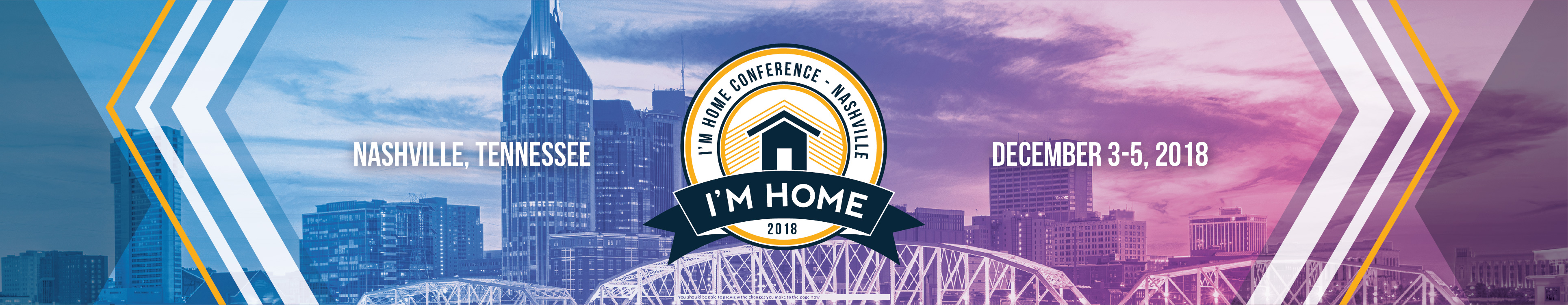 2018 I'M HOME Conference