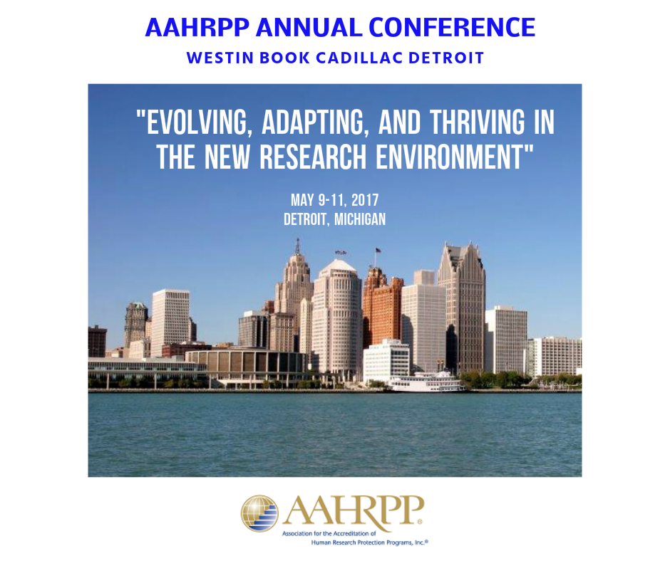 AAHRPP 2017 Annual Conference