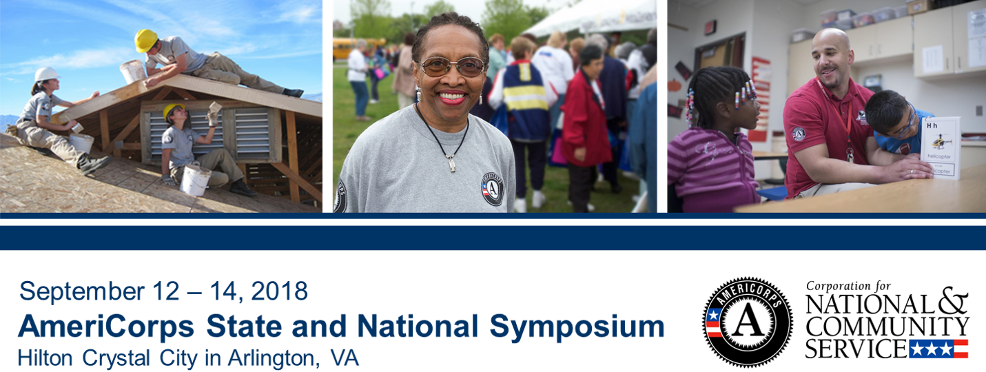 2018 AmeriCorps State and National Symposium