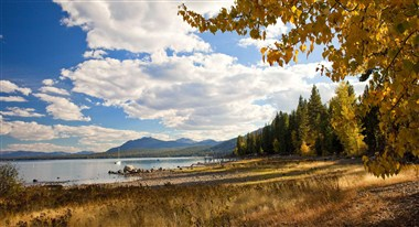 Fall in Lake Tahoe