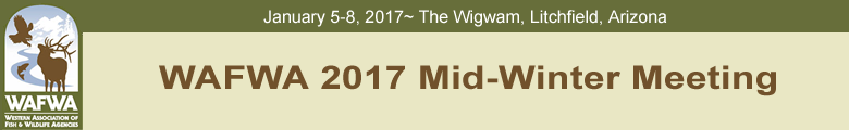 WAFWA 2017 Mid-Winter Meeting
