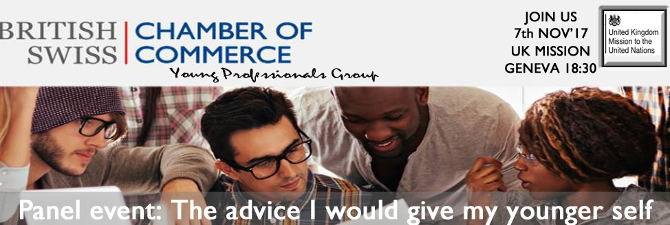 Young Professionals Group Geneva   Mentoring series: The advice I would give my younger self