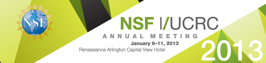 2013 NSF Industry/University Cooperative Research Centers Annual Meeting