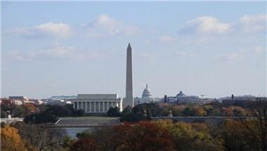 DC Skyline - The National Mall