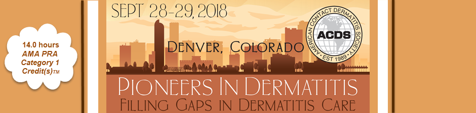 2018 ACDS Pioneers in Dermatitis
