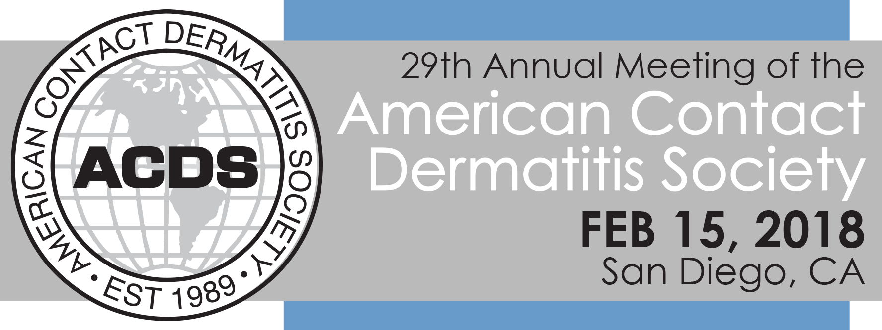 2018 The 29th Annual Meeting of the ACDS