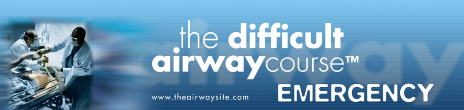 2017 The Difficult Airway Course: Emergency - Boston