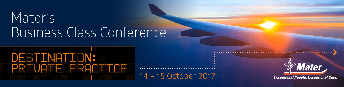 Mater's Business Class Conference 2017