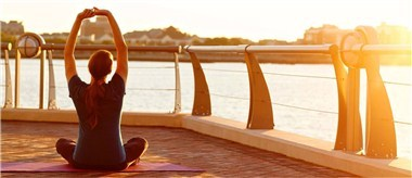exhale spa, Battery Wharf, Yoga on the Harbor