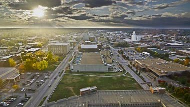 Overview of Downtown Springfield