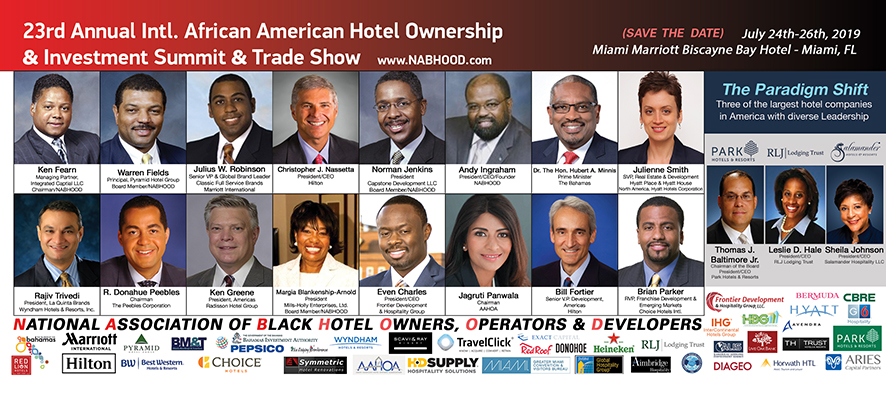 23nd Annual International African American Hotel Ownership & Investment Summit & Trade Show