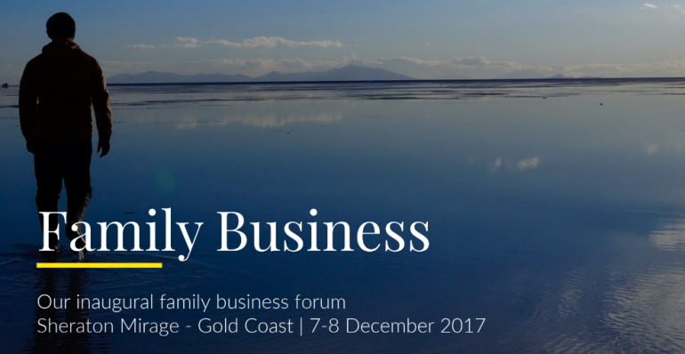 Family Business Forum 2017