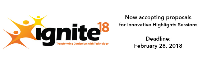 Call for Innovative Highlights Presentations - ignite18