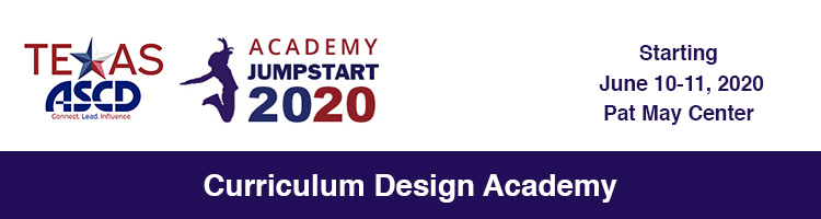 Curriculum Design Academy - Jumpstart 2020
