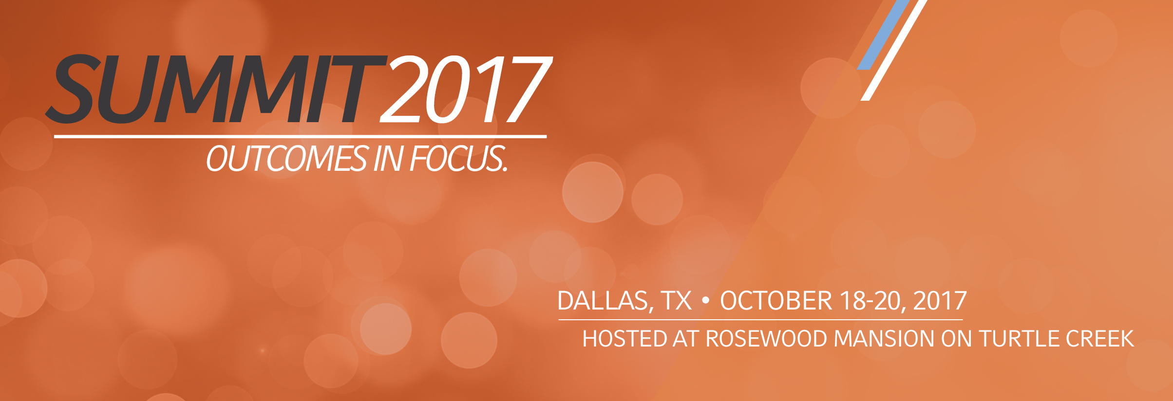 SUMMIT 2017 Russell Investments Advisor Conference October 18-20, 2017