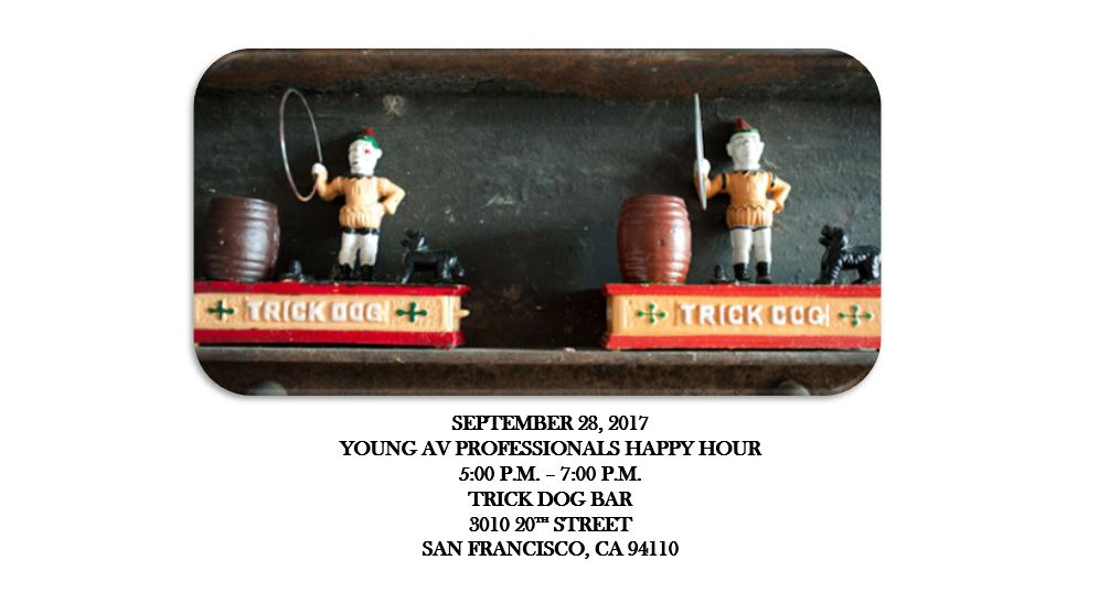 Young AV Professionals Happy Hour in San Francisco