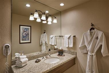King Suite- Bathroom