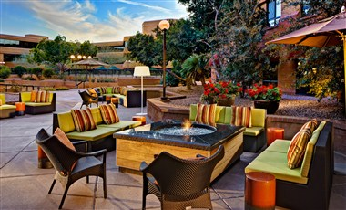 Scottsdale Marriott Suites Old Town Patio