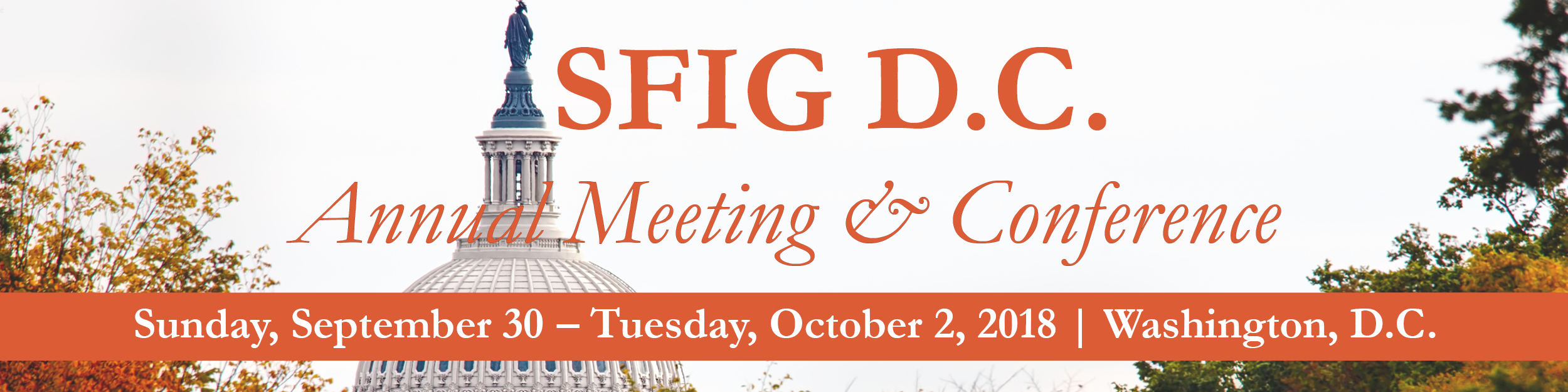 SFIG D.C. Annual Meeting & Conference