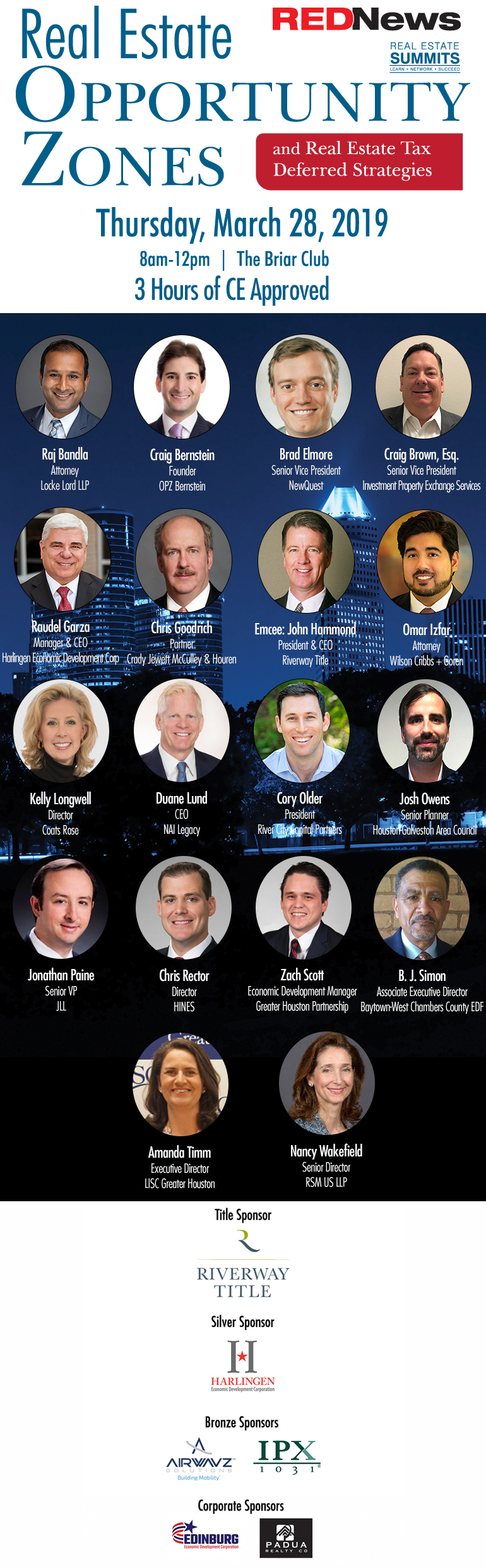 Texas Real Estate Opportunity Zones Summit
