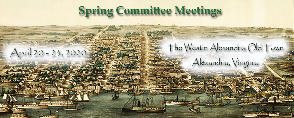 Spring Committee Meetings