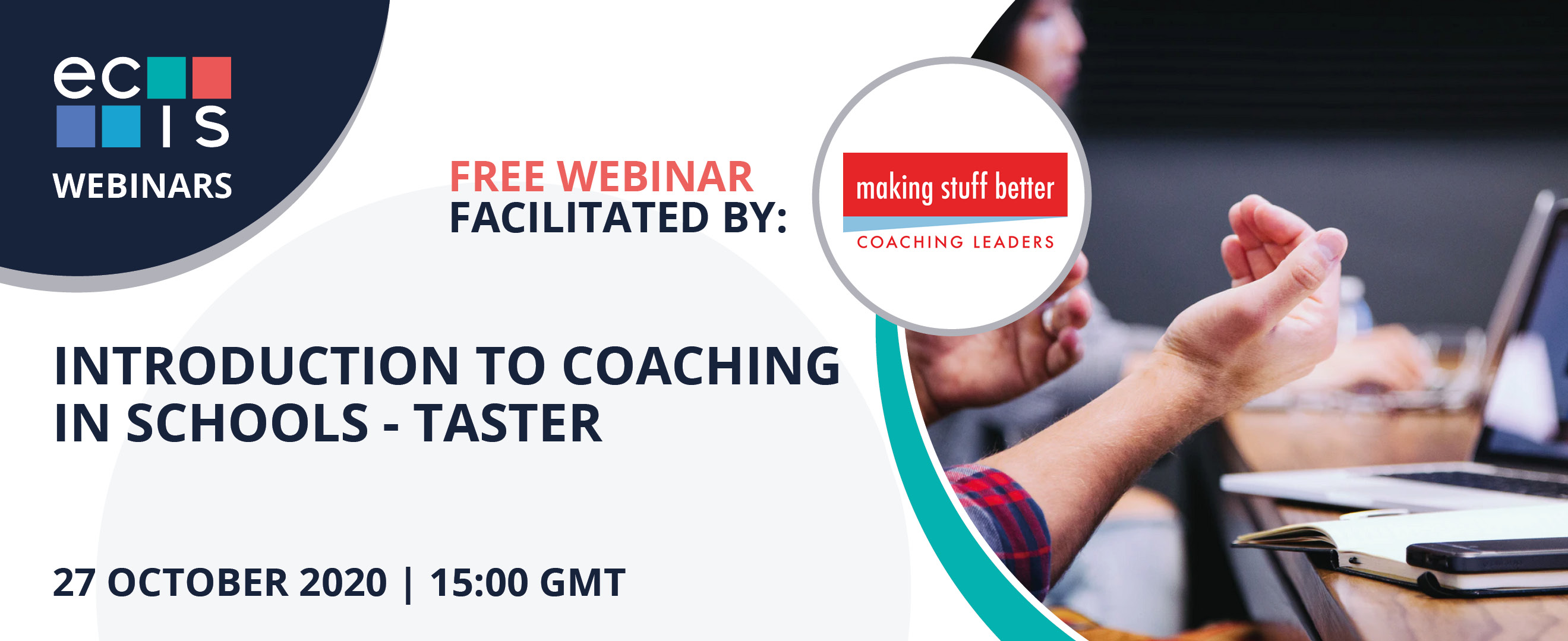 Webinar: Introduction to Coaching in Schools - Taster