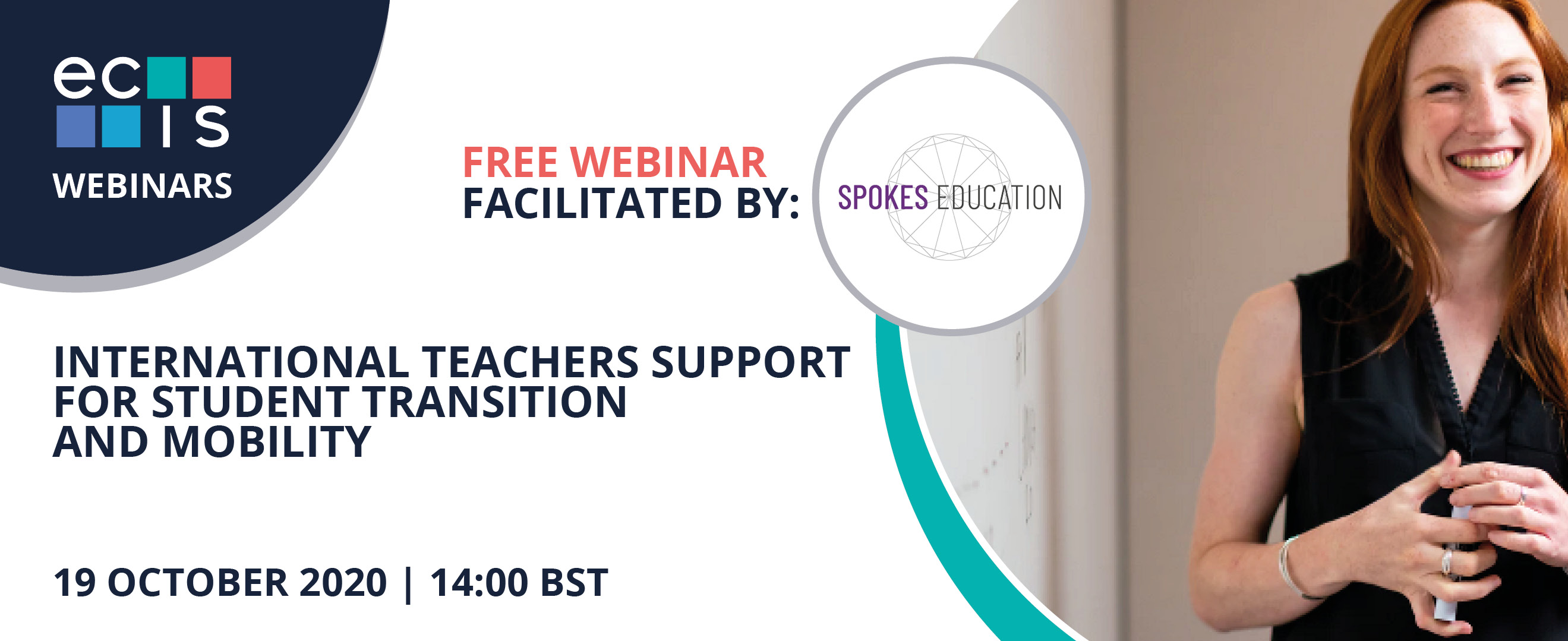 ECIS/SPOKES WEBINAR: International Teachers support for Student transition and mobility