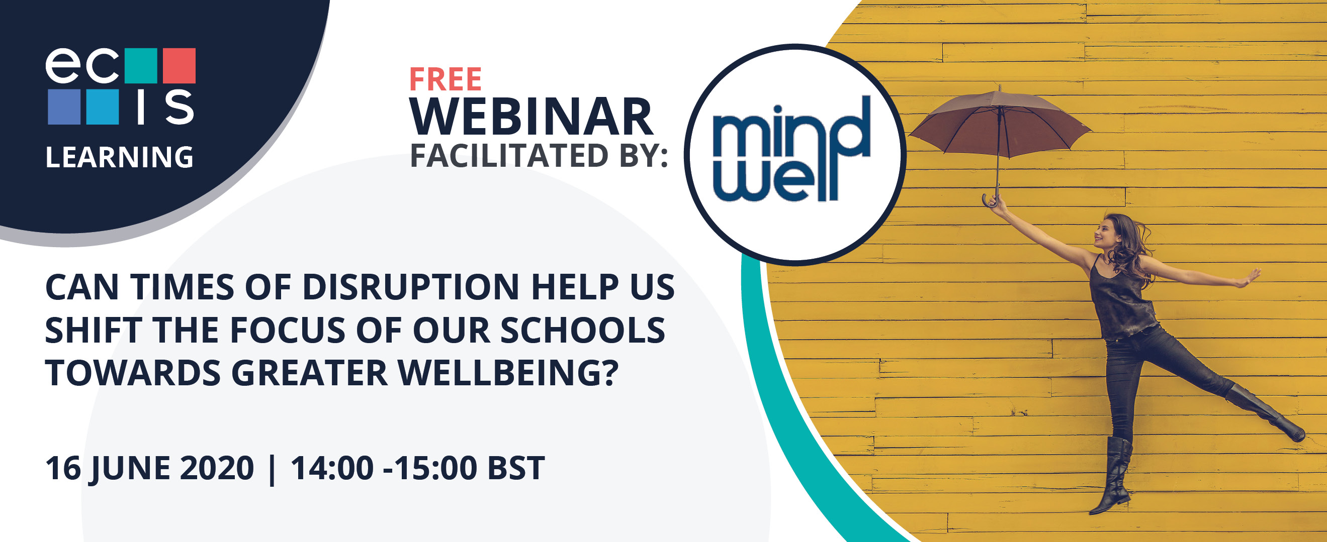 Webinar: Can times of disruption help us shift the focus of our schools towards greater wellbeing?