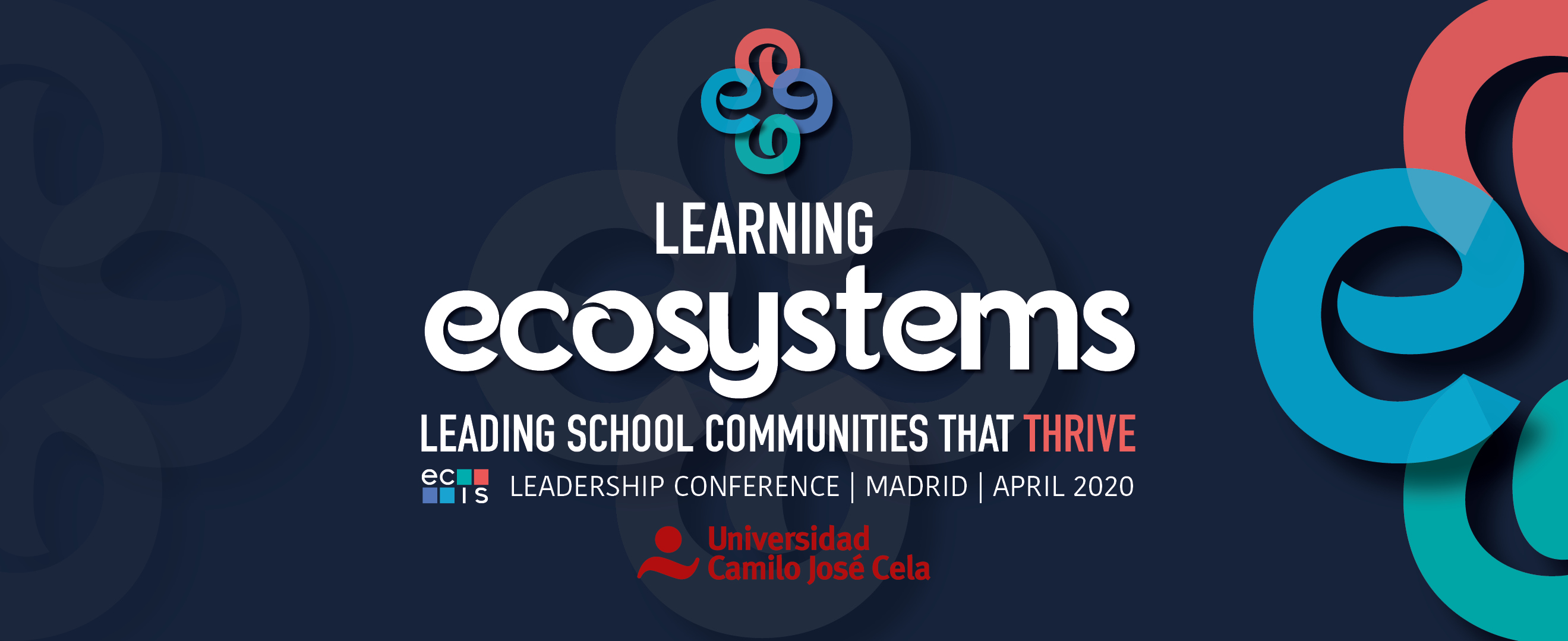 ECIS Leadership Conference 2020 - Madrid