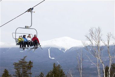 On-site skiing at Bretton Woods