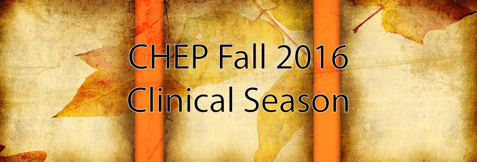 Clinical Courses - Fall 2016
