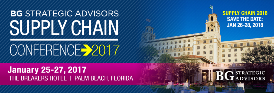 BG Strategic Advisors Supply Chain Conference 2017