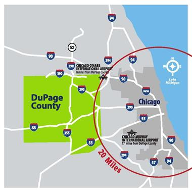Chicago's Western Suburbs-DuPage County, Illinois