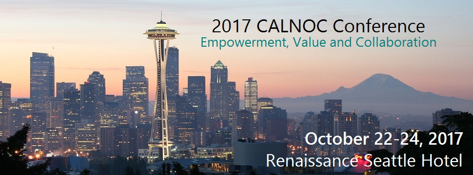 CALNOC Conference 2017 - Empowerment, Value and Collaboration