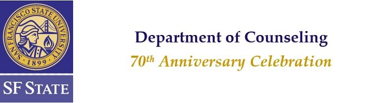 Department of Counseling - 70th Anniversary Celebration