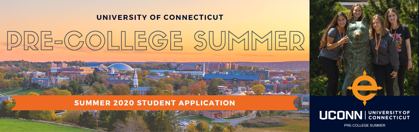 UConn Pre-College Summer: 2020 Application