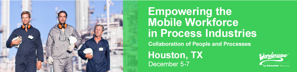 2016 Empowering the Mobile Workforce in Process Industries