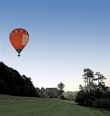 Bovey Caslte - Hot air balloon