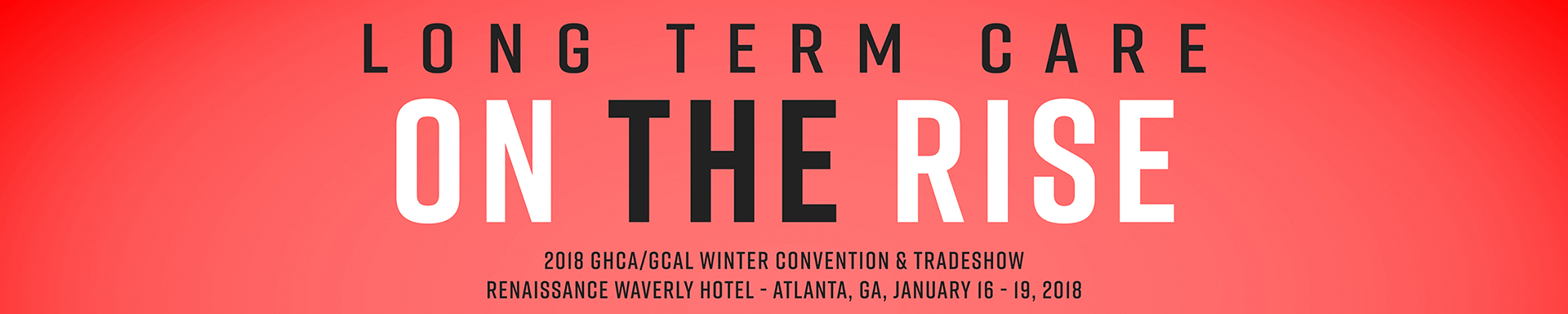 2018 GHCA/GCAL Winter Convention and Trade Show