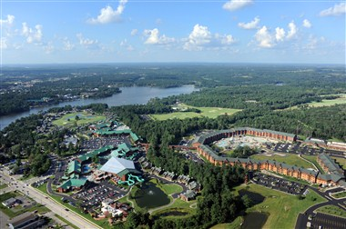 Wilderness Resort- Aerial