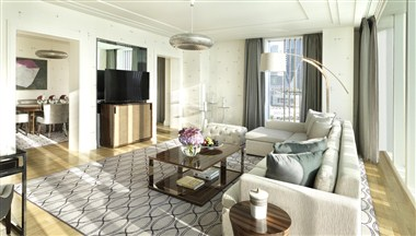 Premier Four Seasons Executive Suite Living Room 2